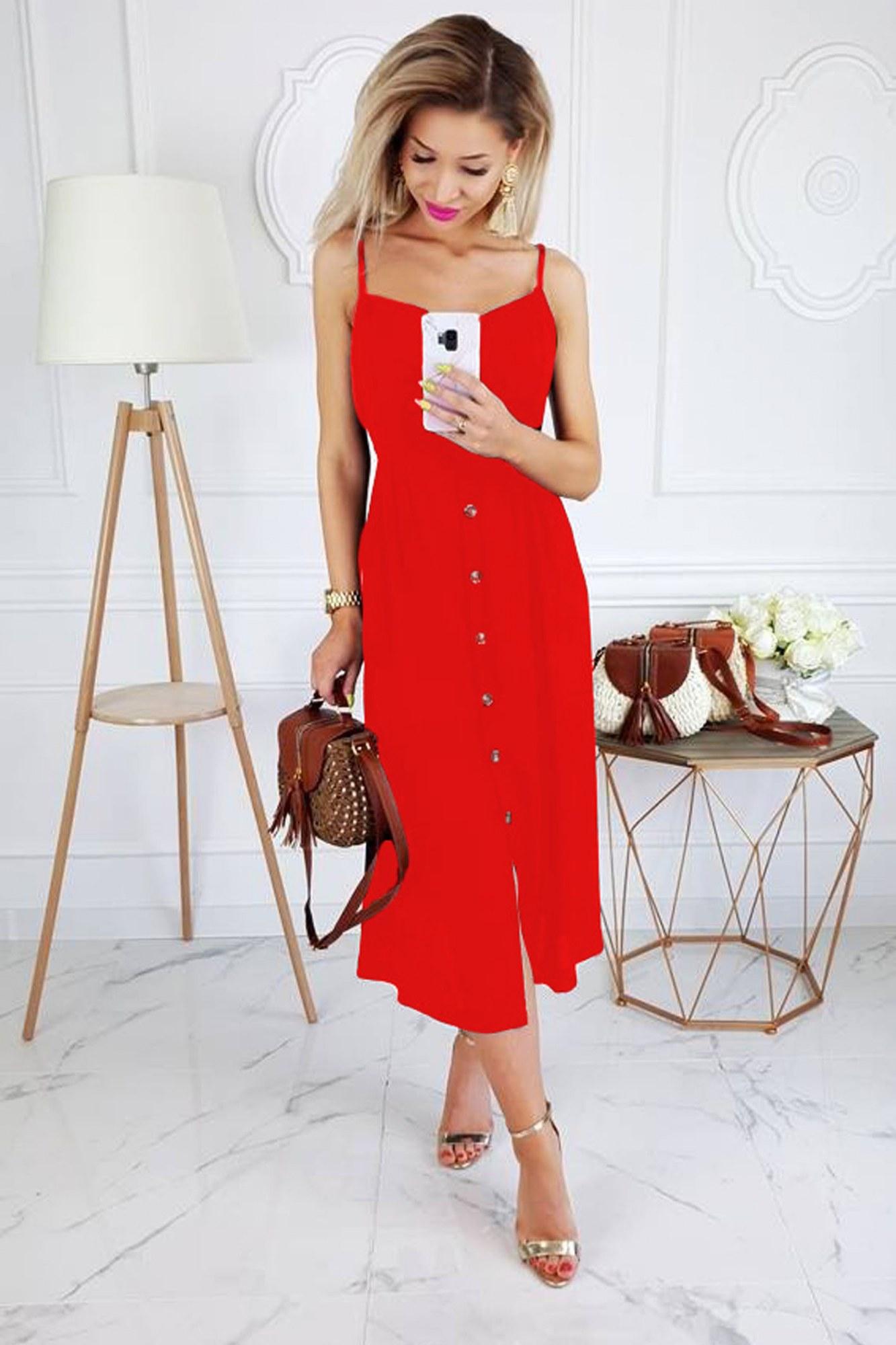 8c16f0f65505 Κόκκινα Γυναικεία Φορέματα Online - Ταξινομημένα Προϊόντα - Σελίδα 7 ...