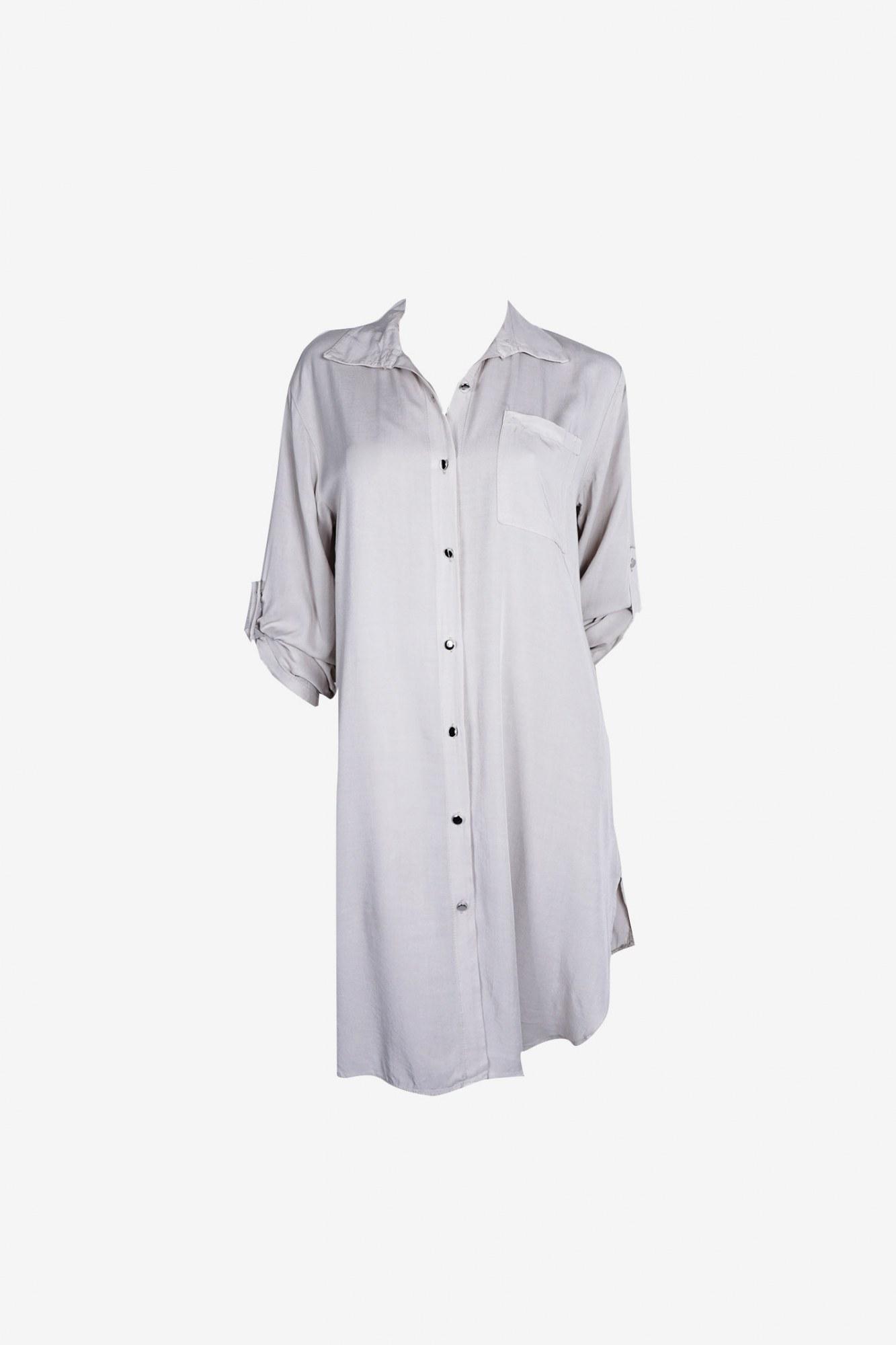 Φόρεμα μπεζ με κουμπιά και τσέπη · Φόρεμα μπεζ με κουμπιά και τσέπη ... 41793e7e552
