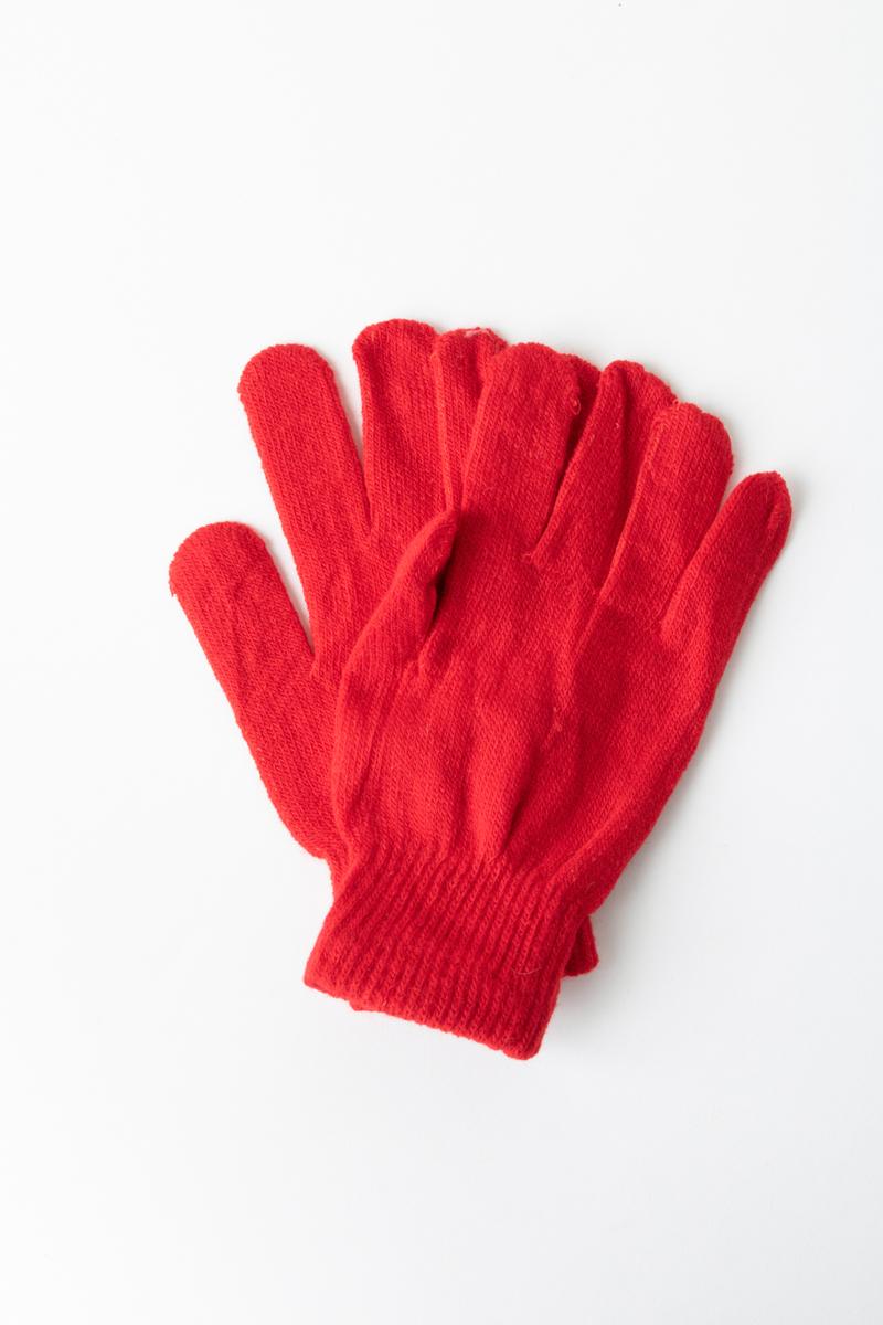 Σετ γάντια κόκκινα