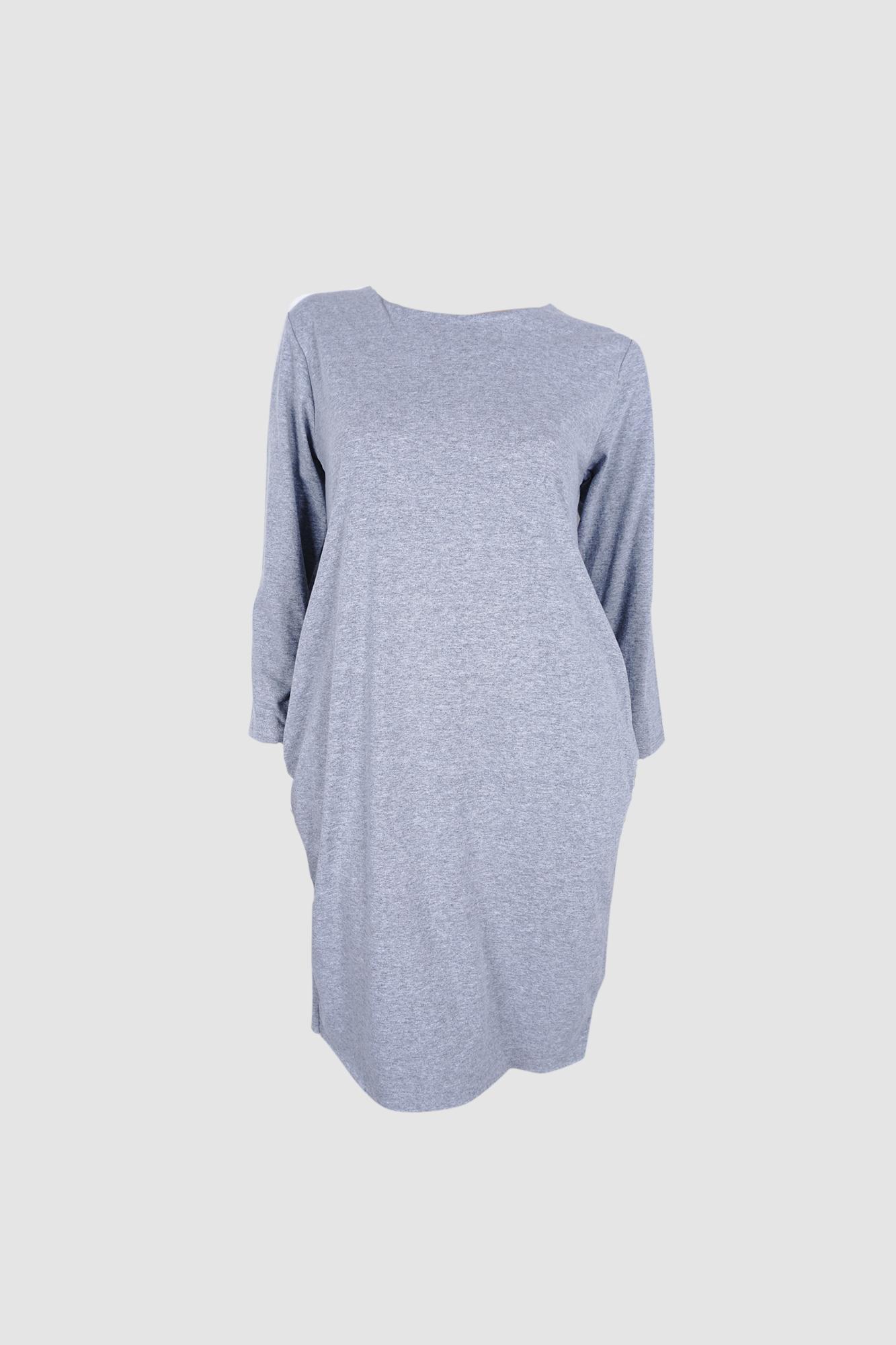 Φόρεμα γκρι με τσέπες Φόρεμα γκρι με τσέπες 72b0bd37aa7