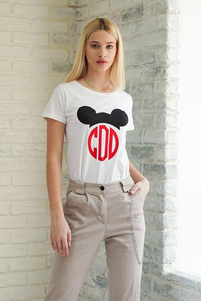 T-shirt λευκό με logo ... d1b591a549f