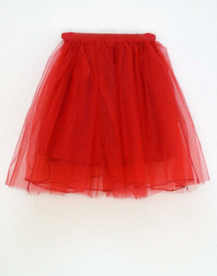 108bfe3a059 Φούστα tutu κόκκινη